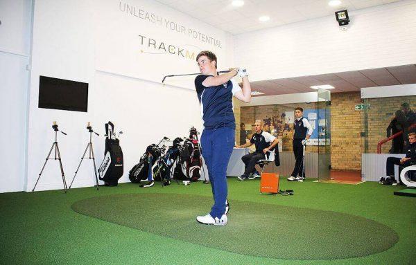 indoor golfing