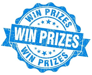 Win Prizes seal